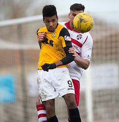 East Fife&rsquo;s Nathan Austin. <br /> East Fife 1 v 0 Stirling Albion, Scottish Football League Division Two game played atBayview Stadium, 20/2/2106.