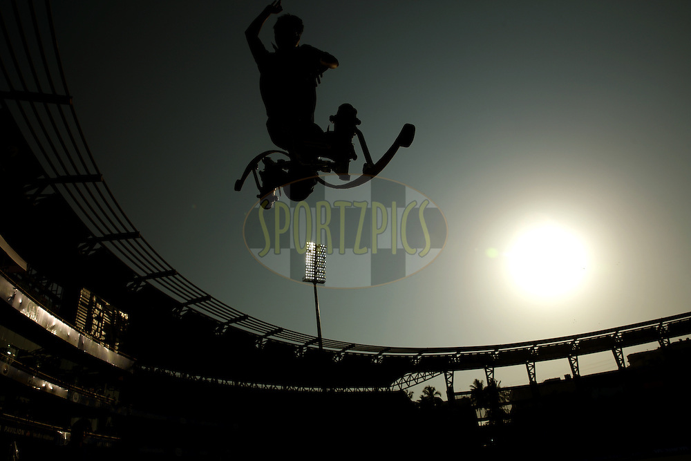 during match 22 of the Pepsi Indian Premier League Season 2014 between the Mumbai Indians and the Kings XI Punjab held at the Wankhede Cricket Stadium, Mumbai, India on the 3rd May  2014<br /> <br /> Photo by Sandeep Shetty / IPL / SPORTZPICS<br /> <br /> <br /> <br /> Image use subject to terms and conditions which can be found here:  http://sportzpics.photoshelter.com/gallery/Pepsi-IPL-Image-terms-and-conditions/G00004VW1IVJ.gB0/C0000TScjhBM6ikg