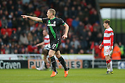 Stoke City defender Ryan Shawcross  during the The FA Cup third round match between Doncaster Rovers and Stoke City at the Keepmoat Stadium, Doncaster, England on 9 January 2016. Photo by Simon Davies.
