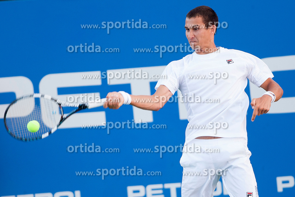 Evgeny Donskoy of Russia in quarterfinal during Day 5 of ATP Challenger Tilia Slovenia Open 2014 on July 11, 2014 in Tennis stadium SRC Marina, Portoroz / Portorose, Slovenia. Photo by Urban Urbanc / Sportida