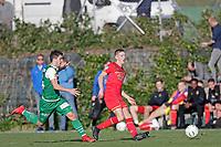 *Philippe Koch* of FC St Gallen, *Mees Hoedemakers* of AZ Alkmaar,