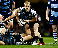 Aled Davies of Ospreys<br /> <br /> Photographer Simon King/Replay Images<br /> <br /> Guinness PRO14 Round 21 - Cardiff Blues v Ospreys - Saturday 27th April 2019 - Principality Stadium - Cardiff<br /> <br /> World Copyright © Replay Images . All rights reserved. info@replayimages.co.uk - http://replayimages.co.uk