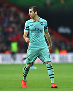 Henrikh Mkhitaryan (7) of Arsenal during the Premier League match between Bournemouth and Arsenal at the Vitality Stadium, Bournemouth, England on 25 November 2018.
