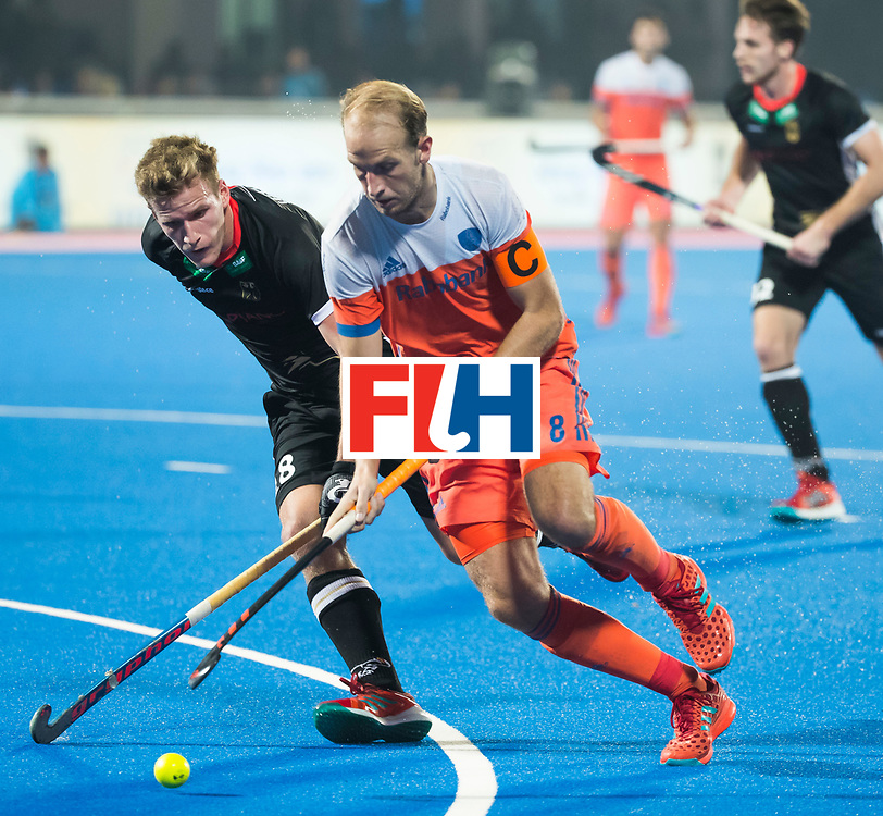 BHUBANESWAR - Billy Bakker (Ned) tijdens de Hockey World League Finals , de kwartfinale wedstrijd Duitsland-Nederland (3-3).Duitsland wint na shoot-outs.    COPYRIGHT KOEN SUYK