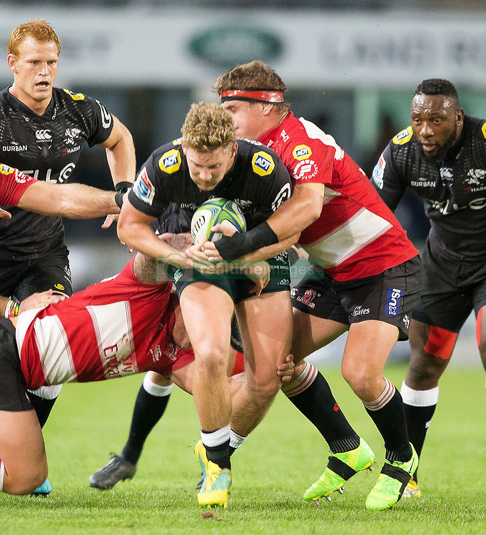 Durban. 300618. Robert du Preez during the Super Rugby match between Cell C Sharks and Emirates Lions and at Jonsson Kings Park Stadium on June 30, 2018 in Durban, South Africa. Picture Leon Lestrade. African News Agency/ANA