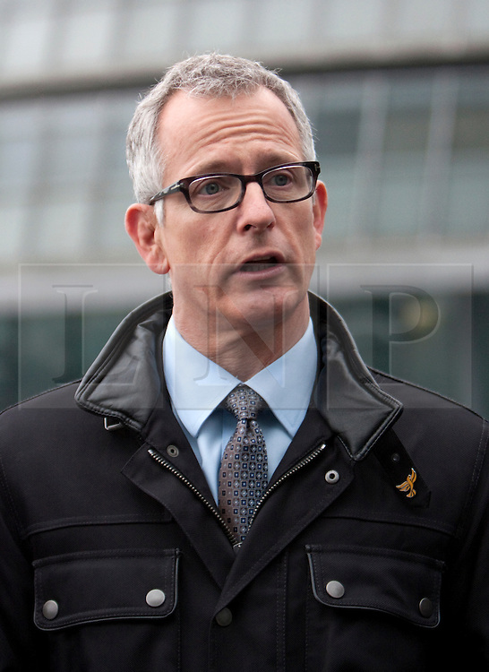 © Licensed to London News Pictures. 05/04/2012. London, U.K..Brian Paddick, Liberal Democrat candidate for London Mayor announces that Duwayne Brooks, best friend of Stephen Lawrence, is to be his Deputy Mayor for Youth and Communities. The position would involve Duwayne working closely with communities and young people in London, listening and engaging with them and reporting back to the Mayor, offering advice and delivering projects beneficial to both groups..Photo credit : Rich Bowen/LNP