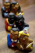 Belo Horizonte_MG, Brasil...1 Salao do Artesanato na Serraria Souza Pinto em Belo Horizonte. Na foto detalhe de bonecas em ceramica...1th Salao do Artesanato in the Serraria Souza Pinto in Belo Horizonte. In this photo, ceramic dolls. ..Foto: MARCUS DESIMONI / NITRO.