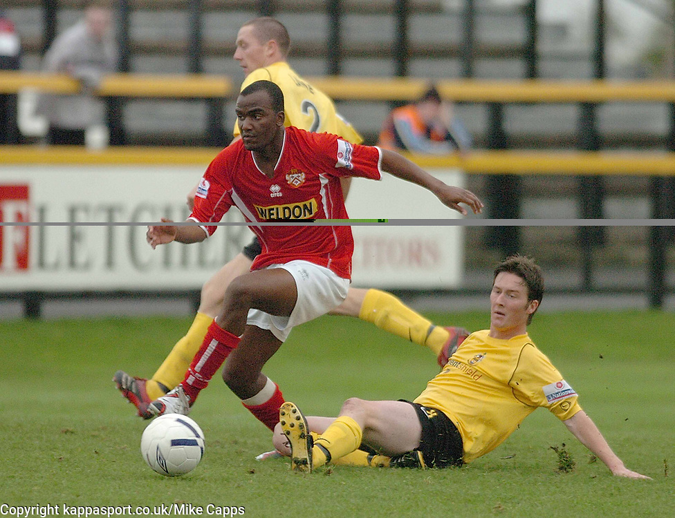 CRAIG WESTCARR KETTERING TOWN  Southport v Kettering Town Conference Saturday 28th October 2006
