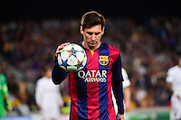 Lionel MESSI - 21.04.2015 - Barcelone / Paris Saint Germain - 1/4Finale Retour Champions League<br />