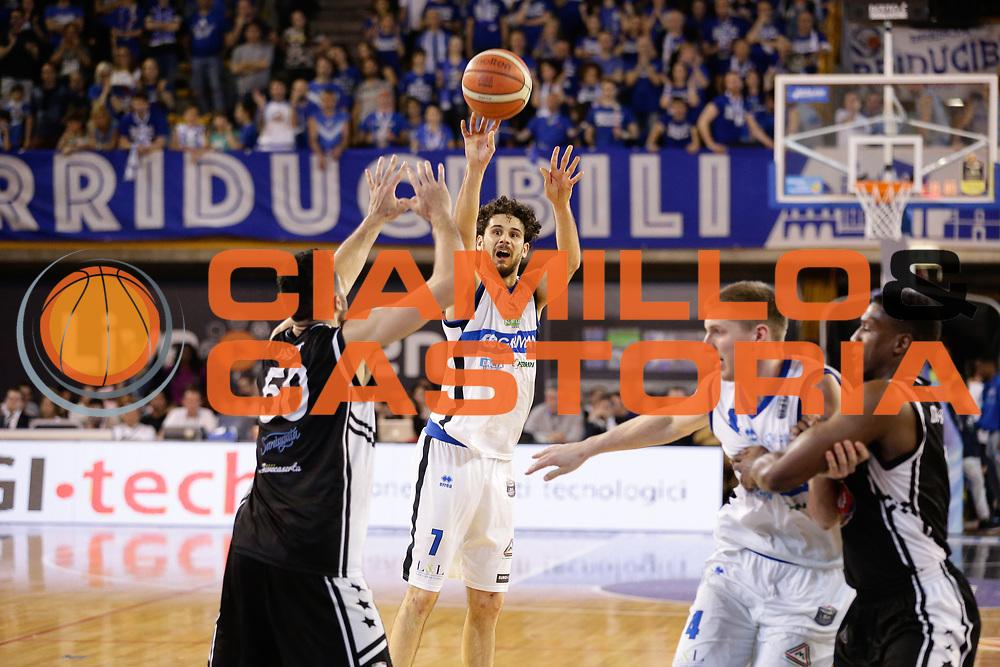 Vitali Luca<br /> Germani Basket Brescia Leonessa - Pasta Reggia Juve Caserta<br /> Lega Basket Serie A 2016/2017<br /> Montichiari, 02/04/2017<br /> Foto Ciamillo-Castoria / M. Brondi