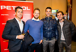 Andraz Bedene, Tom Kocevar Desman, Mike Urbanija and Nik Razborsek during Slovenian Tennis personality of the year 2017 annual awards presented by Slovene Tennis Association Tenis Slovenija, on November 29, 2017 in Siti Teater, Ljubljana, Slovenia. Photo by Vid Ponikvar / Sportida