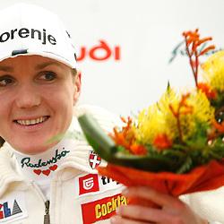 20071204: Nordic Ski - Petra Majdic's Press conference
