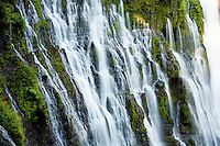 Burney Falls in Central California.