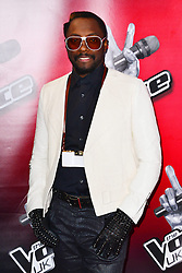 Will.i.am during The Voice press launch, The Soho Hotel, London, United Kingdom, London, United Kingdom, March 11, 2013. Photo by Nils Jorgensen / i-Images...Contact..Andrew Parsons: 00447545 311662.Stephen Lock: 00447860204379