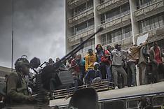 Ant-Mugabe Protests - 18 Nov 2017