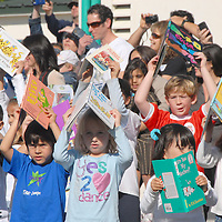 Roosevelt Elementary Schoolwide Read-a-Thon Flash Mob Assembly