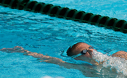 Robi Zbogar of Slovenia during the Men's 200m Backstroke Heats during the 13th FINA World Championships Roma 2009, on July 29, 2009, at the Stadio del Nuoto,  in Foro Italico, Rome, Italy. (Photo by Vid Ponikvar / Sportida)