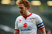 MK Dons Dean Lewington(3) during the EFL Sky Bet League 1 match between Milton Keynes Dons and Bristol Rovers at stadium:mk, Milton Keynes, England on 3 March 2018. Picture by Nigel Cole.