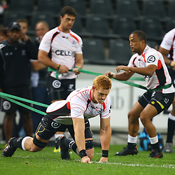 DURBAN, SOUTH AFRICA - JULY 15: Philip van der Walt of the Cell C Sharks during the Super Rugby match between the Cell C Sharks and Sunwolves at Growthpoint Kings Park on July 15, 2016 in Durban, South Africa. (Photo by Steve Haag/Gallo Images)