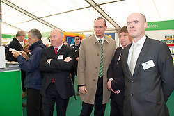The National Ploughing Championships, Athy, Co Kildare, Ireland.  ..Tuesday 20th – Thursday 22nd of September 2011. ...Picture were left to right;.....The National Ploughing Championships and the International Eucharistic Congress National in Ireland are celebrating their 80th anniversaries..