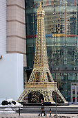 Eiffel Tower Replica Appears