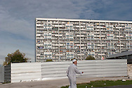 = La Courneuve , cite of 4000. daily life   Paris  France    /// La Courneuve, cite des 4000 , la vie quotidienne   Paris  France +