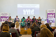 Session 6: THE CIVIL SOCIETY PERSPECTIVE ON VAW IN POLITICS 'Violence Against Women in Politics' Conference, organised by all the UK political parties in partnership with the Westminster Foundation for Democracy, 19th and 20th of March 2018, central London, UK.  (Please credit any image use with: © Andy Aitchison / WFD