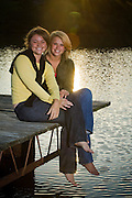 Dugan/Wong Family Photos.Julie senior photos.10/14/2007..