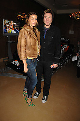 SIMON & YASMIN LE BON at a party to celebrate the first year if ING's sponsorship of the Renault Formula 1 team, held at the Mayfair Hotel, Stratton Street, London W1 on 28th November 2007.<br /><br />NON EXCLUSIVE - WORLD RIGHTS