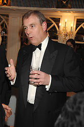 HRH The DUKE OF YORK at the Eastern Eye Asian Business Awards 2007 in the presence of HRH The Duke of York at the Hilton Park Lane, London on 8th May 2007.<br />