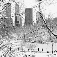 February 2013 nor'easter - New York City officially recorded 11.4 inches (29 cm) of snow at Central Park.