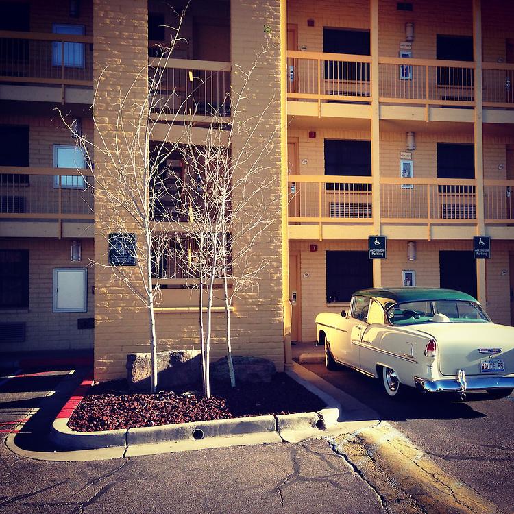 Americana. Santa Fe, New Mexico.