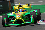 DURBAN, South Africa, John Martin of Team Australia bouncing thru the chicane and clocking 1:19.579 for 7th position during the Friday practice sessions held as part of the A1GP race weekend in Durban, South Africa on Friday 22 February 2008. Photo: SportsPics/SPORTZPICS