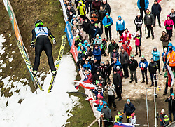 Maja Vtic of Slovenia during Day 3 of World Cup Ski Jumping Ladies Ljubno 2019, on February 10, 2019 in Ljubno ob Savinji, Slovenia. Photo by Matic Ritonja / Sportida