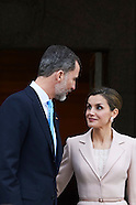 022217 Spanish Royals Attend an official lunch with President of Argentina, Mauricio Macri and wife
