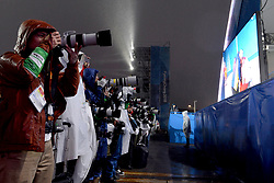 Les Coulisses, Behind the scenes at  the PyeongChang2018 Winter Paralympic Games, South Korea.