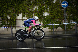 Chiara Consonni (ITA) at La Madrid Challenge by La Vuelta 2019 - Stage 1, a 9.3 km individual time trial in Boadilla del Monte, Spain on September 14, 2019. Photo by Sean Robinson/velofocus.com