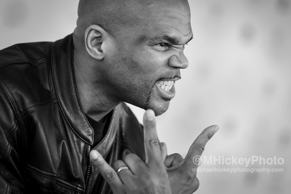 "Darryl ""DMC"" McDaniels at Kentucky Derby in Louisville."