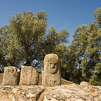 "According to ""Wikipedia"" - Filitosa is a megalithic site in southern Corsica, France. The period of occupation spans from the end of the Neolithic era and the beginning of the Bronze Age, until around the Roman times in Corsica."