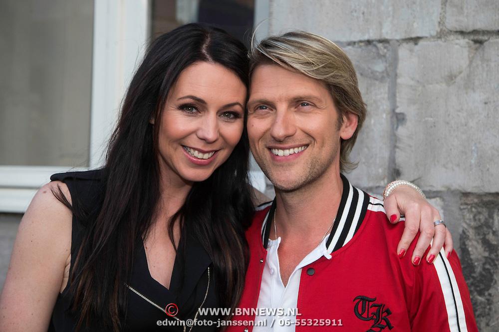 NLD/Maastricht/20140630 - TROS Muziekfeest op het Plein 2014 Maastricht, Kristel Verbeke en partner Gene Thomas