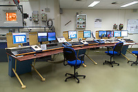 The control room of the COVRA the only Dutch Nuclear waste storage facility near Borssele.