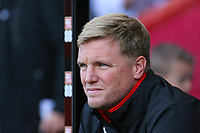 Football - 2017 / 2018 Premier League - AFC Bournemouth vs. Leicester City<br /> <br /> Bournemouth's Manager Eddie Howe at the Vitality Stadium (Dean Court) Bournemouth<br /> <br /> COLORSPORT/SHAUN BOGGUST