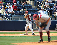 Mississippi vs. Arkansas in a college baseball game at Oxford-University Stadium in Oxford, Miss. on Sunday, May 9, 2010. Arkansas won 7-0.