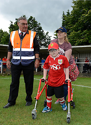 Oskar Pycroft - Photo mandatory by-line: Dougie Allward/JMP - Mobile: 07966 386802 - 05/07/2015 - SPORT - Football - Bristol - Brislington Stadium - Pre-Season Friendly