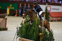 De Liedekerke-Meier Lara, BEL, Nyala d Arville<br /> Indoor Cross Country<br /> CHI de Genève 2017<br /> © Dirk Caremans<br /> 09/12/2017
