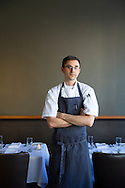 Executive Chef Justin Woodward of Castagna Restaurant in Portland, Oregon