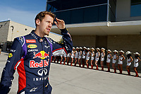 VETTEL Sebastian (Ger) Red Bull Renault Rb10 ambiance portrait   during the 2014 Formula One World Championship, United States of America Grand Prix from November 1st to 2nd 2014 in Austin, Texas, USA. Photo Frederic Le Floch / DPPI.