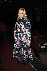 LADY HELEN TAYLOR at a Christmas Carol service in aid of Breast Cancer Haven held at St.Paul's Knighsbridge, Wilton Place, London on 8th December 2009.