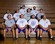 August/24/10:  MCHS Fall Sports Teams<br /> <br /> First Row (l to r):  Tom Butterworth, Head Coach Stuart Dean, Casey Stanton, Maurice Weaver<br /> <br /> Second Row (l to r):  Casey Brown, Paul Utz, Shane Conlon, Drew Eanes<br /> <br /> Third Row (l to r):  Todd Landis, Moonie Frazier