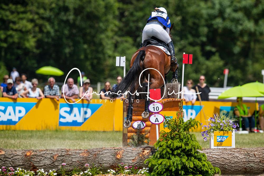 Cohen Sarah, GBR, Treason<br /> Event Rider Masters -Chateau d'Arville<br /> CCI4*-S Sart Bernard 2019<br /> © Hippo Foto - Dirk Caremans<br /> Cohen Sarah, GBR, Treason